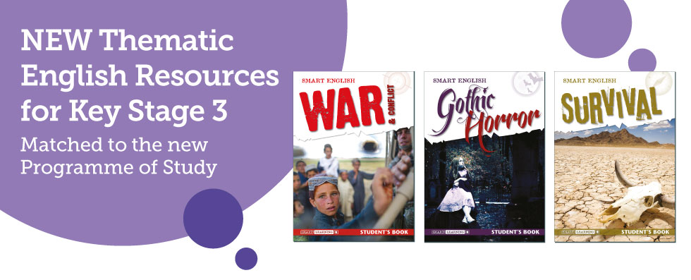 NEW Thematic English Resources for Key Stage 3