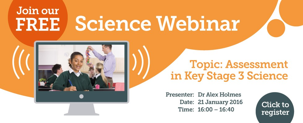 Join our Science webinar