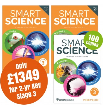 Smart Science 2 Year Key Stage 3 Special Offer Pack