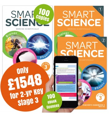 Smart Science Special Offer Pack - 2 year Key Stage 3 with eBook App