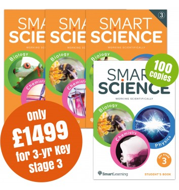 Smart Science 3 Year Key Stage 3 Special Offer Pack