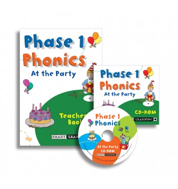 Phase 1 Phonics Disc 5 – At the Party