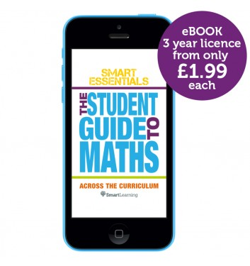 Smart Essentials: The Student Guide to Maths across the Curriculum eBook app (3-year licence)